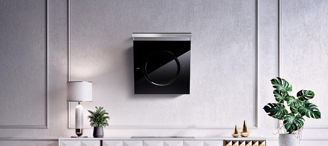 Coifa de parede OM Black.