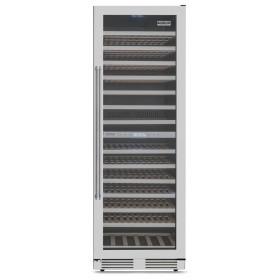 Adega Tecno Professional TR43 AVDC com capacidade de 163 garrafas e abertura de porta para a direita.
