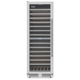Adega Tecno Professional TR43 AVDD com capacidade de 163 garrafas e abertura de porta para a esquerda.