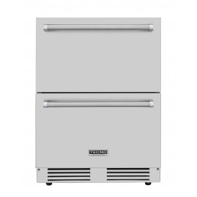 Gaveta Refrigerada TECNO Professional TR14 GXDA de aplicação externa ou interna no piso ou embutida.