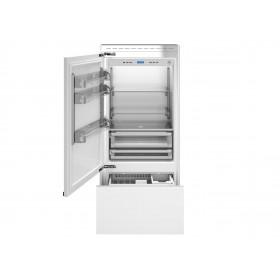 Refrigerador com Portas para Revestir de Embutir Bertazzoni REF90 PRL.